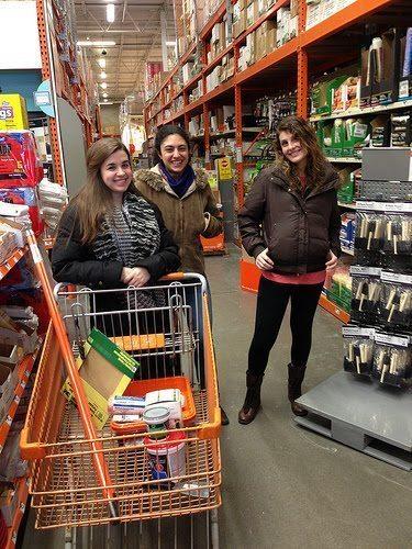 RB Detroit Team at Home Depot